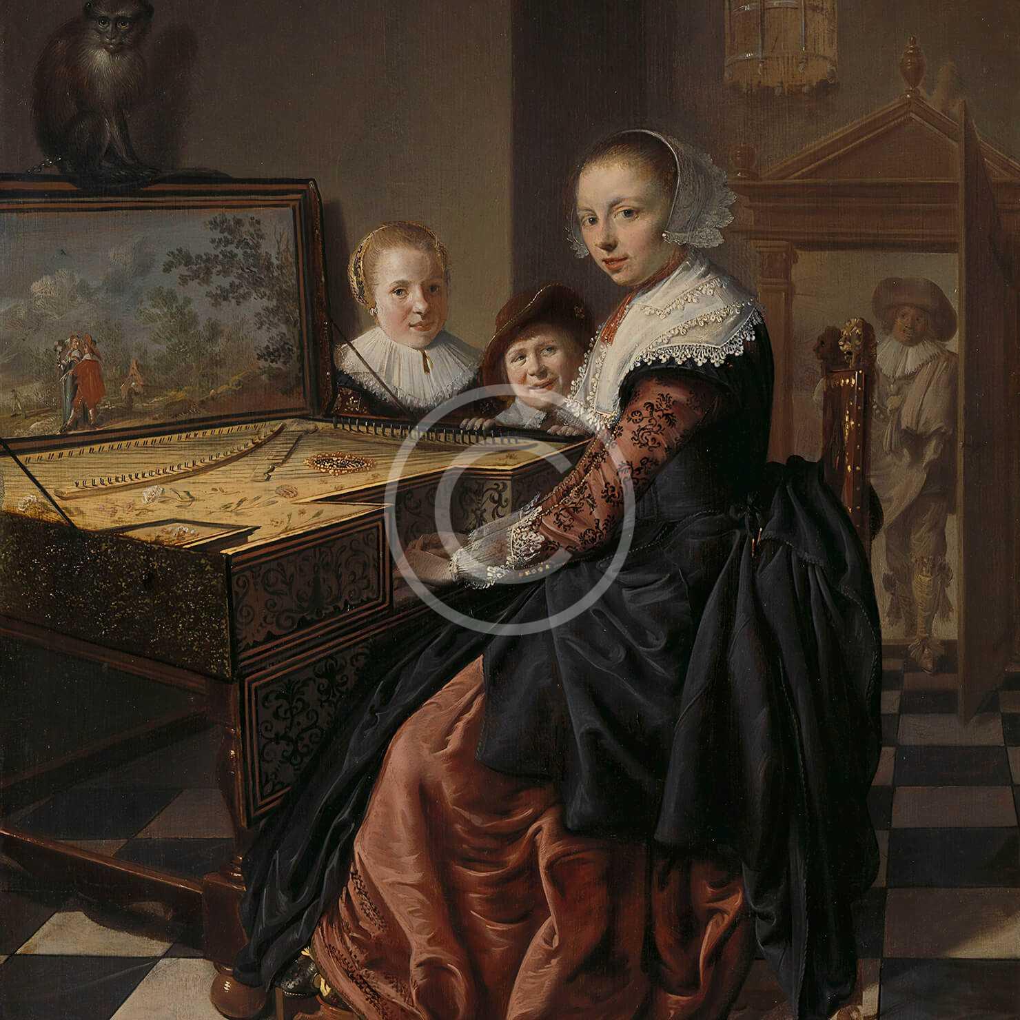 Women Playing the Virginal